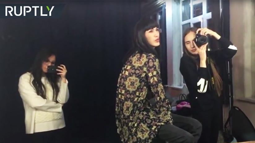 Un joven finge ser mujer y casi gana un concurso de belleza en Kazajistán (FOTOS, VIDEO)