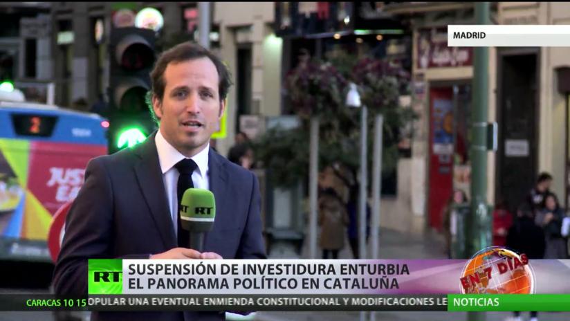 Suspensión de investidura de Puigdemont enturbia el panorama político en Cataluña