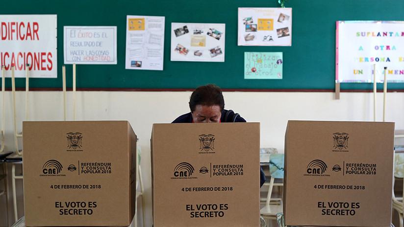 La consulta ecuatoriana sin encuestas a boca de urna