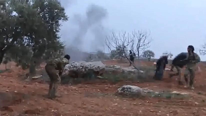"""""""¡Esto es por los chicos!"""": filman los últimos momentos de vida del piloto ruso derribado en Siria"""