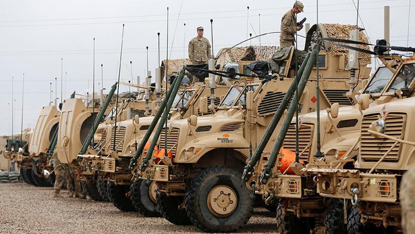 EE.UU. reduce el número de tropas en Irak