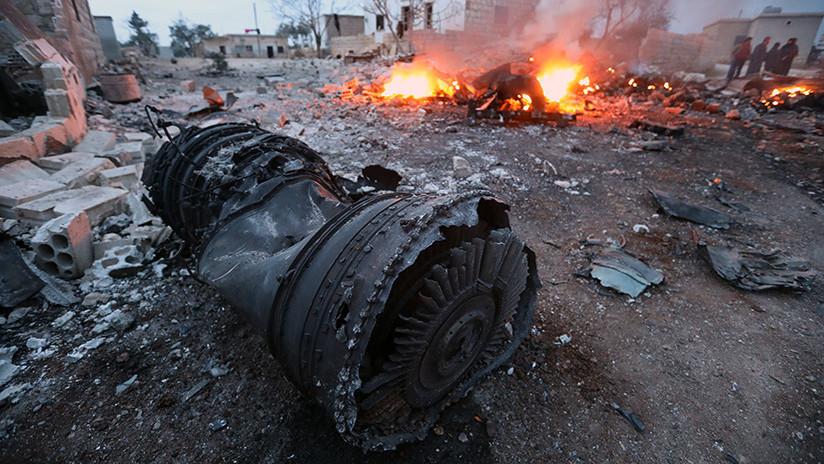 Rusia difunde las primeras explicaciones del derribo de su avión militar en Siria