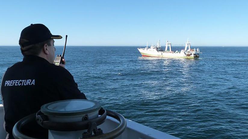 """Argentina captura un barco pesquero español con una carga """"millonaria"""" a bordo"""