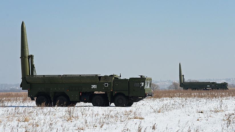 Rusia traslada complejos de misiles Iskander a la región de Kaliningrado