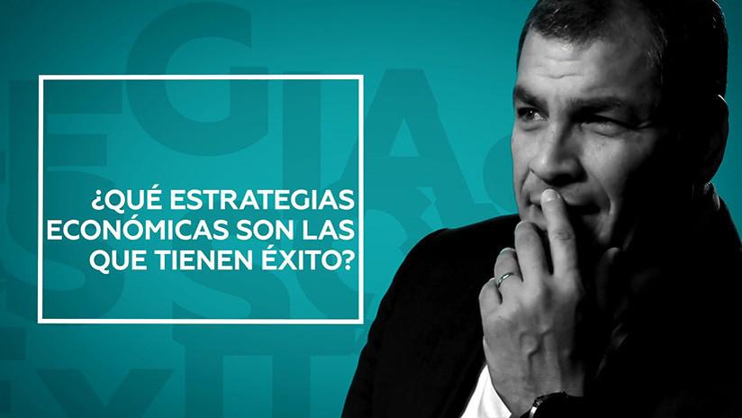 'Conversando con Correa': El expresidente de Ecuador lanza un programa televisivo en RT