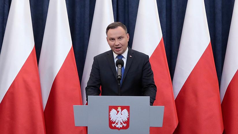 El presidente de Polonia anuncia la firma del polémico proyecto de ley sobre el Holocausto