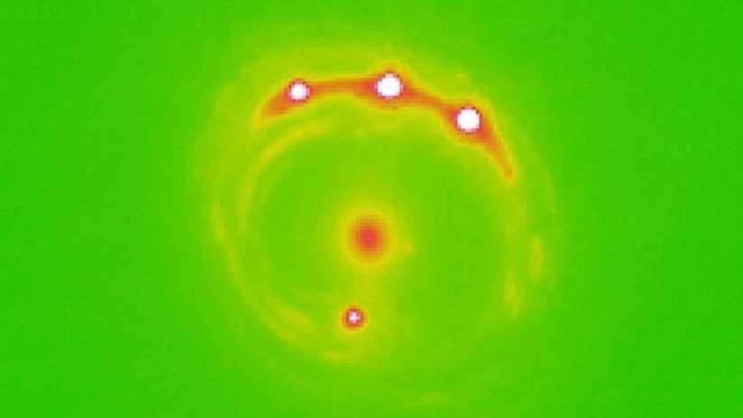Hallan por primera vez planetas fuera de la Vía Láctea