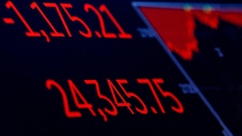 """El índice Dow Jones sigue cayendo este """"martes negro"""""""