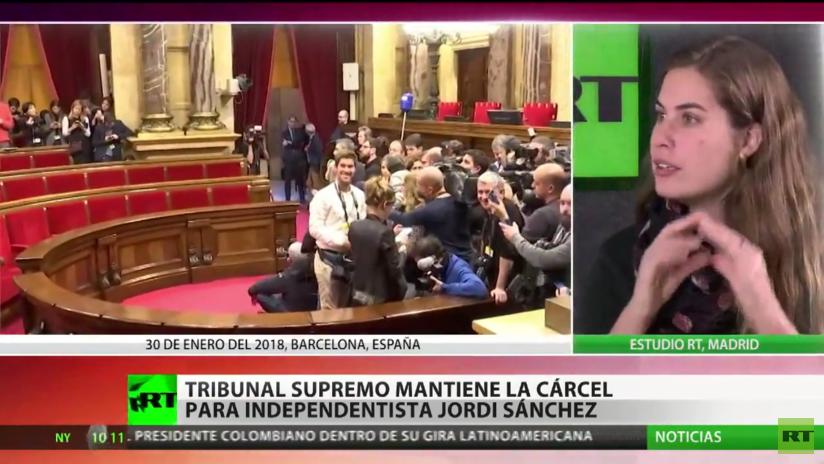 España: Tribunal Supremo mantiene la cárcel para el activista independentista catalán Jordi Sánchez