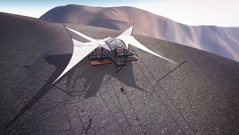 VIDEO: La tirolina más larga del mundo estará en los Emiratos Árabes Unidos