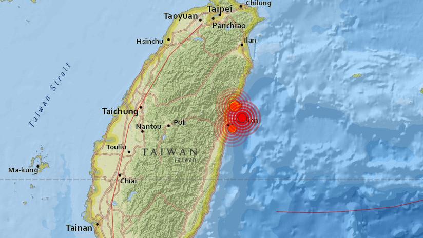 Taiwán, sacudido por dos nuevos terremotos de magnitud 5,1 y 5,2