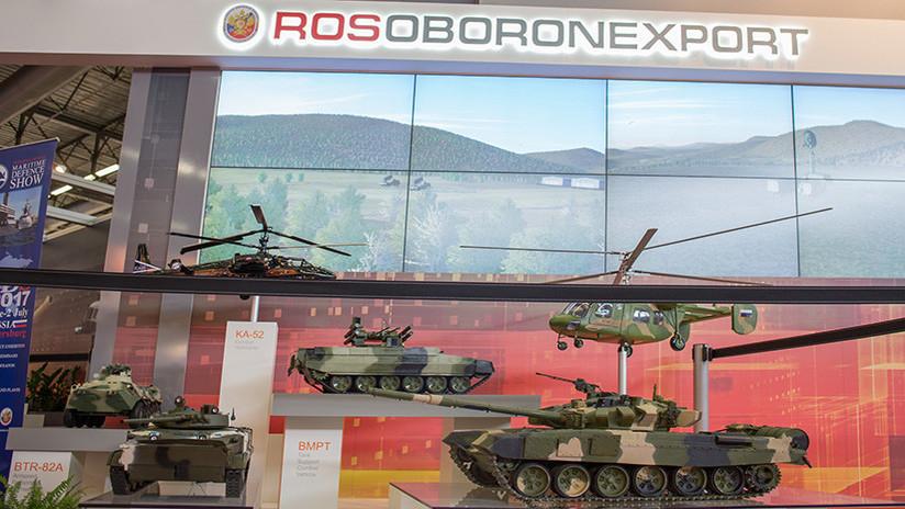 Rosoboronexport firma contratos con 53 países por 15.000 millones de dólares