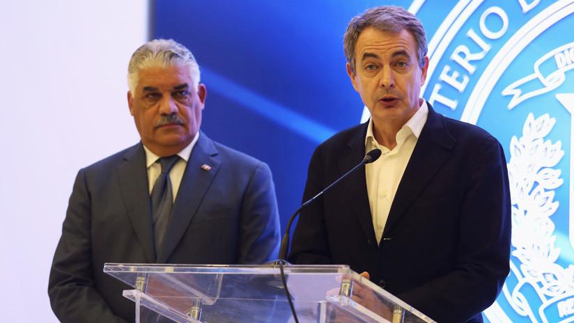"""Zapatero: """"Si no hay acuerdo entre el gobierno y la oposición venezolana, no hay alternativa"""""""