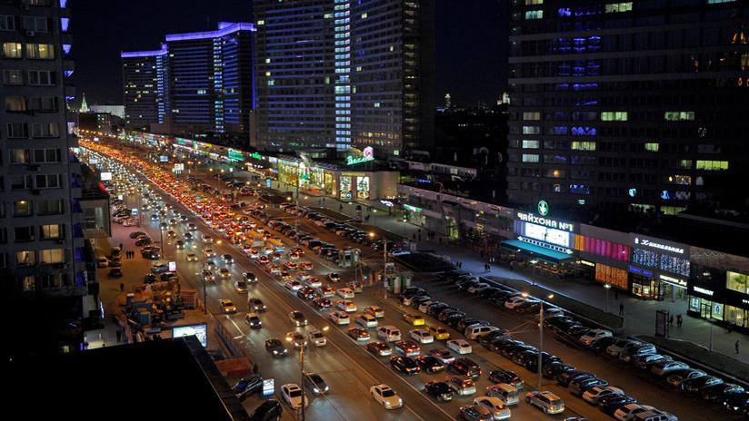 FOTOS: Moscú, la segunda ciudad del mundo con los mayores atascos