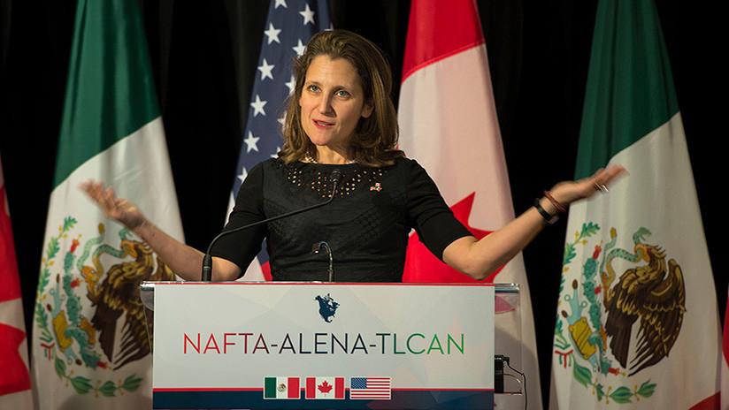 Canadá y México se preparan ante el posible fin del TLCAN con EE.UU.