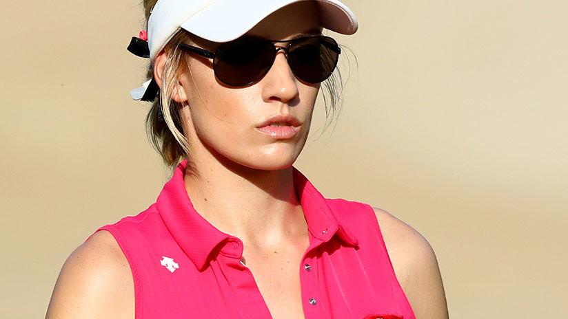 """""""No quería vivir más"""": La golfista 'más sexy del mundo' cuenta cómo fue amenazada de muerte"""