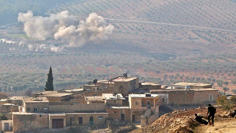 Más de 100 muertos en un ataque de la coalición de EE.UU. contra fuerzas progubernamentales en Siria