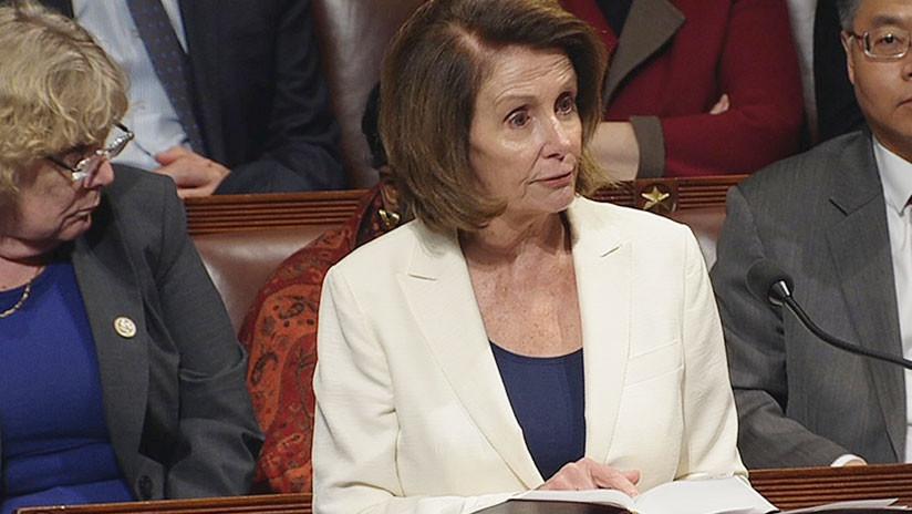 EE.UU.: La demócrata Nancy Pelosi pronuncia un discurso récord de 8 horas a favor de los 'dreamers'