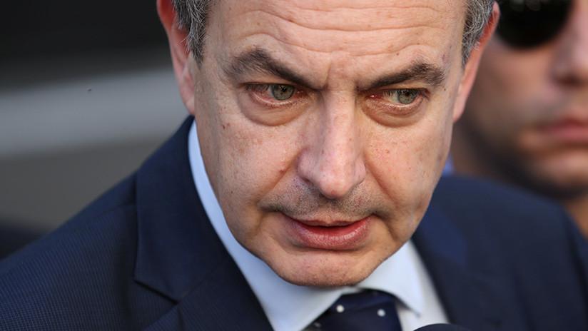 """Zapatero pide a la oposición venezolana que firme el acuerdo """"pensando en la paz"""""""