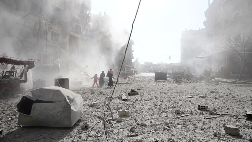 """Siria: """"Ataque de la coalición de EE.UU. contra fuerzas progubernamentales es un crimen de guerra"""""""