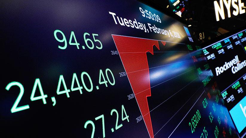 El Dow Jones continúa en baja y pierde 1.000 puntos