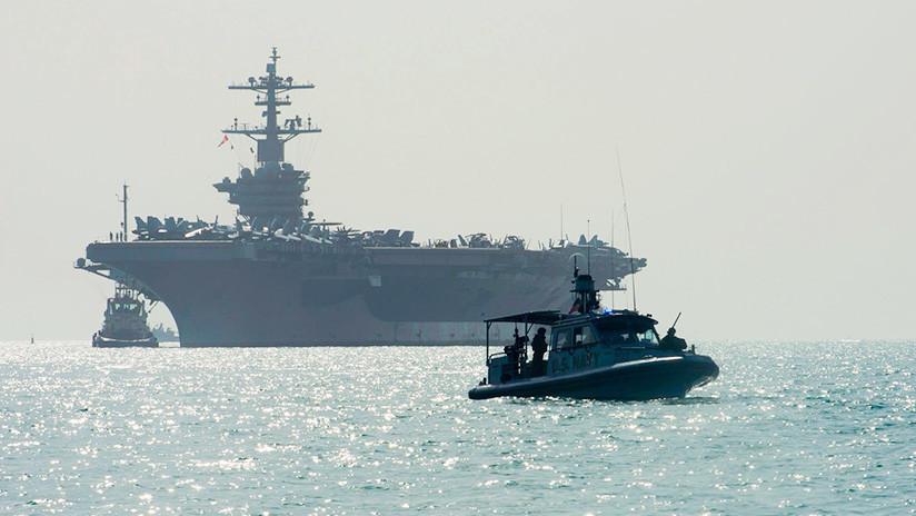 """""""Habla suavemente y lleva un gran garrote"""": La sugestiva publicación de la Marina de EE.UU."""