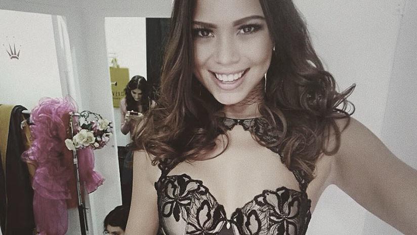 """""""Es perturbador"""": Últimas imágenes de la modelo que cayó desnuda de un balcón en Malasia"""