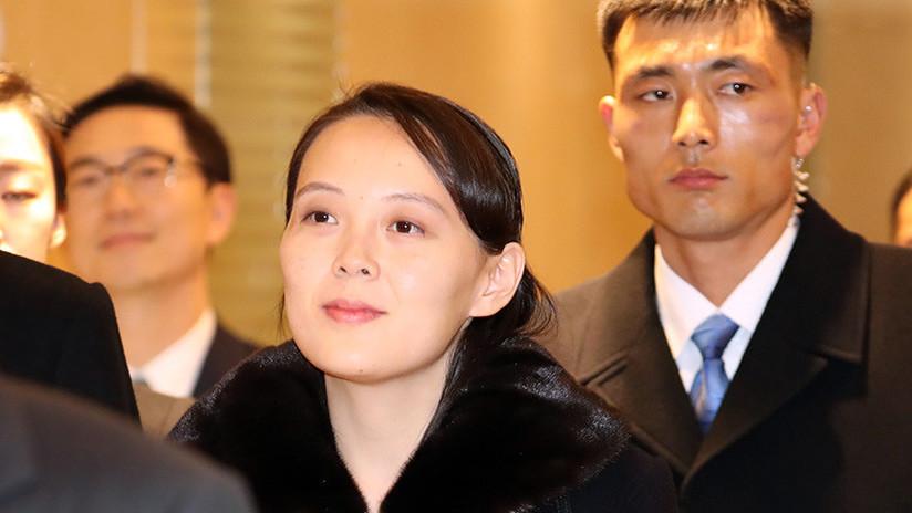 VIDEO: Llegada de la hermana de Kim Jong-un a los JJ.OO. de Pyeongchang