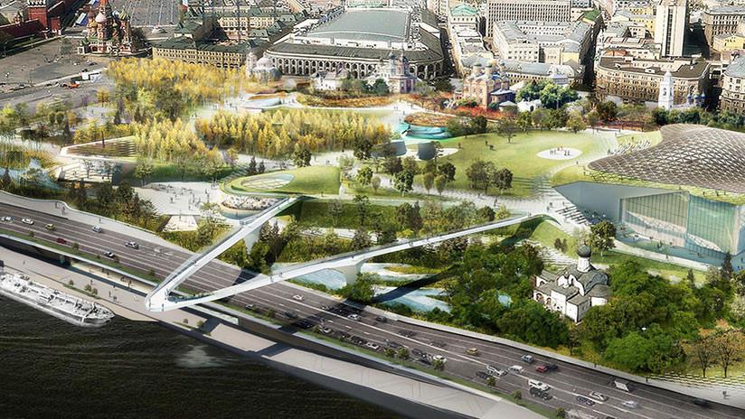 FOTOS: El parque Zariadie de Moscú, reconocido como 'Edificio del año 2018'