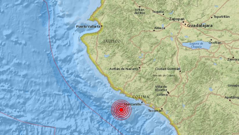 Sismo de magnitud 6 se registra en México