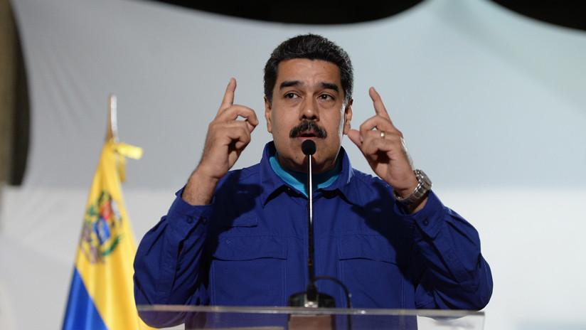 El Gobierno de Venezuela acusa a EE.UU. de querer derrocar al presidente Maduro