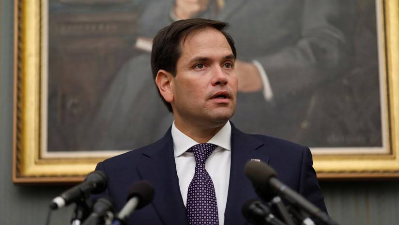 """Marco Rubio: El mundo """"apoyaría"""" un golpe militar en Venezuela"""