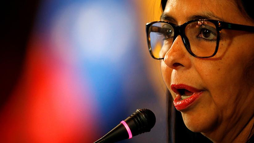 """""""Salga del basural"""": La presidenta de la ANC de Venezuela le responde a Marco Rubio"""