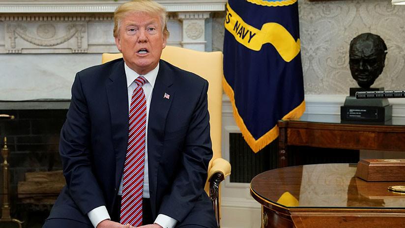 """Trump se niega a hacer público el memorándum de los demócratas con """"datos sensibles"""""""