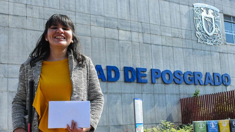 Derribando barreras: Alumna invidente de la UNAM se titula como maestra en Música
