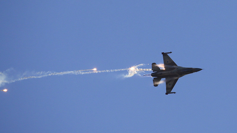 FOTO, VIDEO: Se estrella un caza israelí como resultado de un ataque desde Siria
