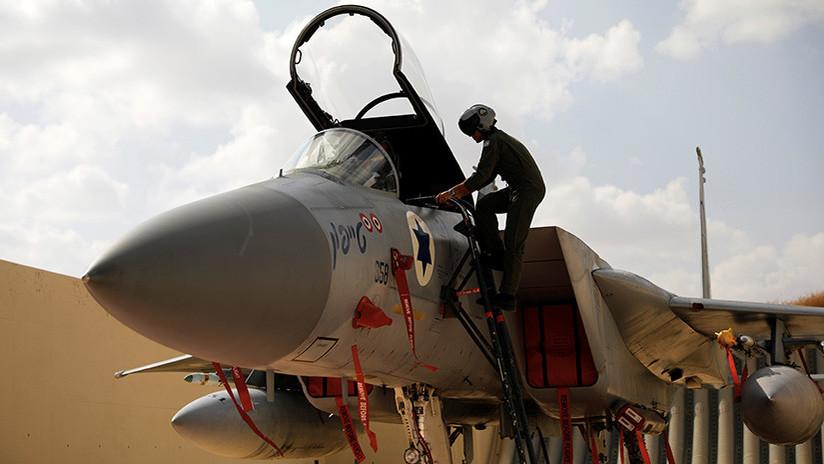 Israel cierra parte de su espacio aéreo tras el derribo de un caza suyo desde Siria