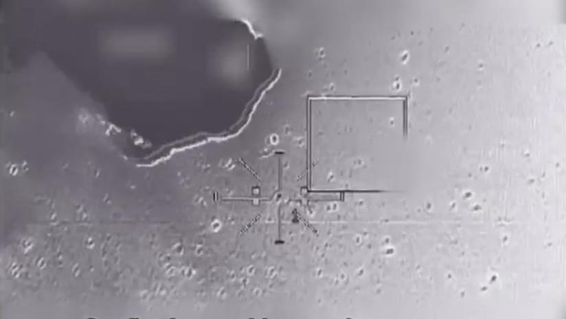 VIDEO: El momento en que Israel derriba un dron iraní procedente de Siria