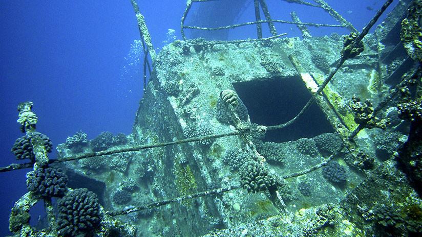 FOTO: Un 'tesoro hundido' en la zona de búsqueda del MH370 genera teorías conspirativas