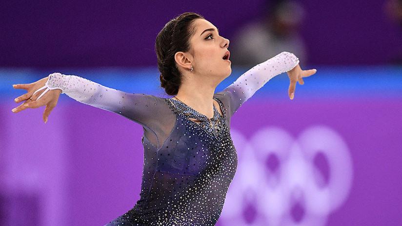 La patinadora rusa Yevguéniya Medvédeva establece un récord mundial en los JJ.OO. de Pyeongchang