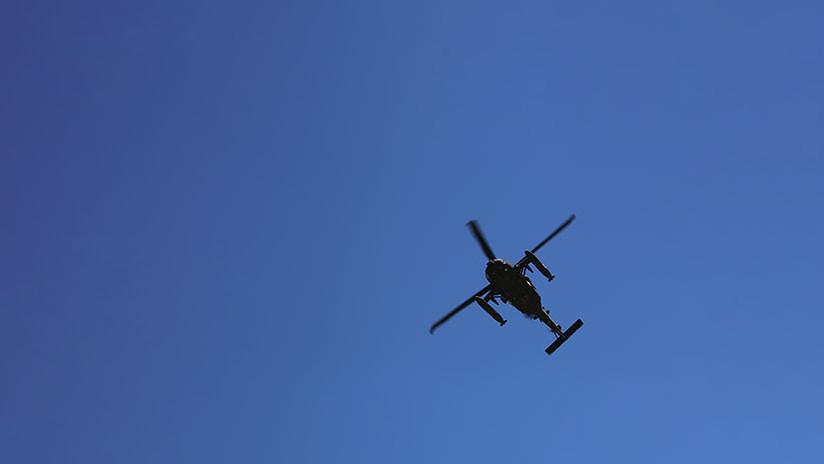 VIDEO: Así derribaron las fuerzas kurdas un helicóptero turco cerca de la ciudad siria de Afrín