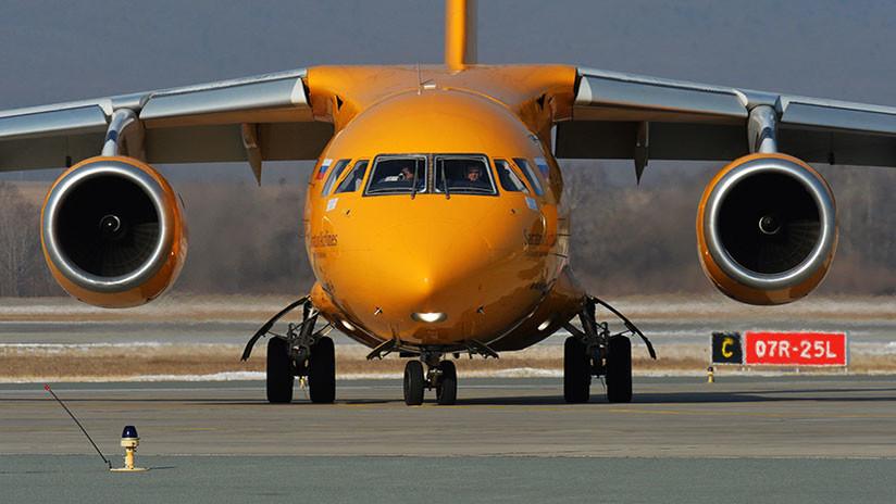 Primera versión del accidente del avión ruso An-148