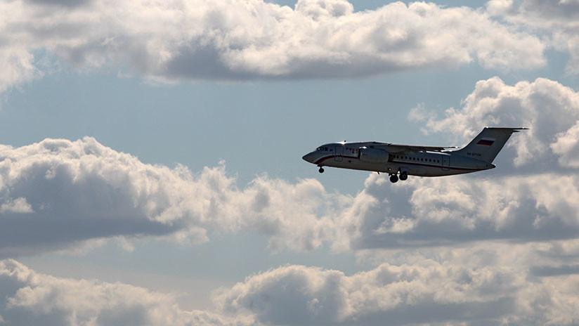 PRIMER VIDEO desde el lugar del siniestro del avión ruso An-148