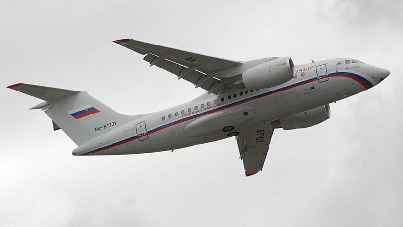 Características técnicas del avión siniestrado An-148