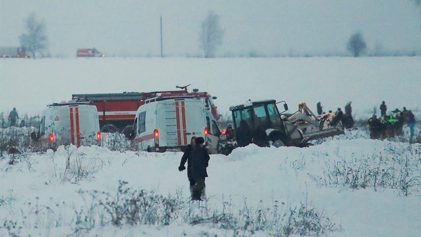 Revelan las últimas comunicaciones del piloto del An-148 siniestrado poco antes del accidente
