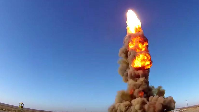 VIDEO: El Ejército ruso ensaya con éxito su nuevo sistema antimisiles contra los intercontinentales