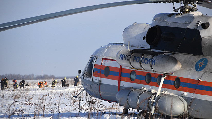 VIDEO: Lugar del siniestro del avión ruso An-148, en el que viajaban 71 personas