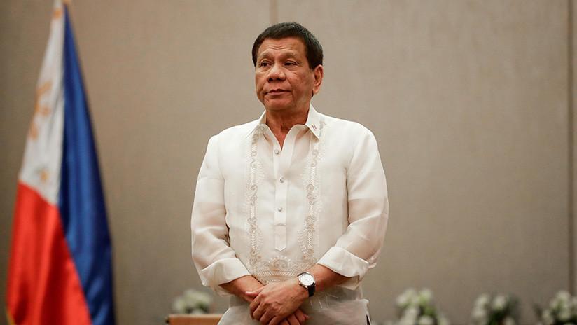 """Duterte a las mujeres rebeldes: """"No vamos a matarlas, solo les dispararemos en la vagina"""""""