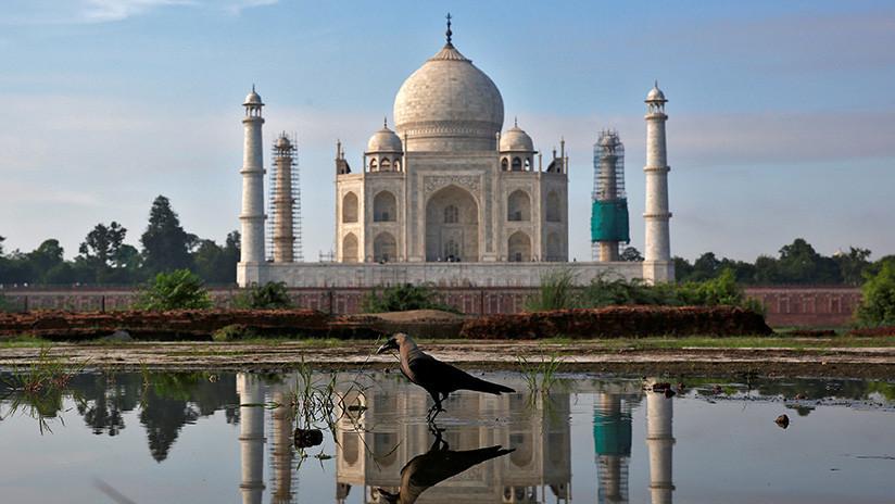 Pánico en la India: el Taj Majal está cambiando de color. Esta es la razón (FOTOS)