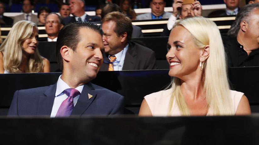 La esposa del hijo mayor de Trump, hospitalizada tras abrir un sobre con un polvo blanco